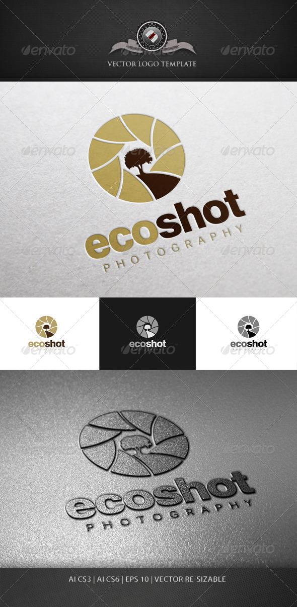 GraphicRiver EcoShot Logo Template 5629491