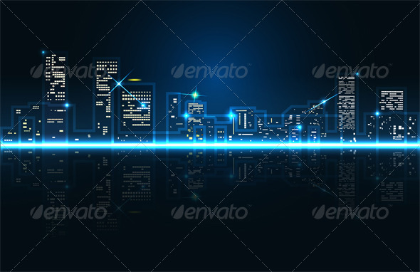GraphicRiver Abstract City 5631226