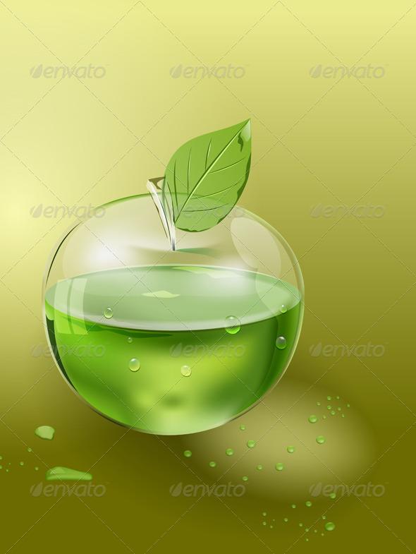 GraphicRiver Apple Juice 5631239