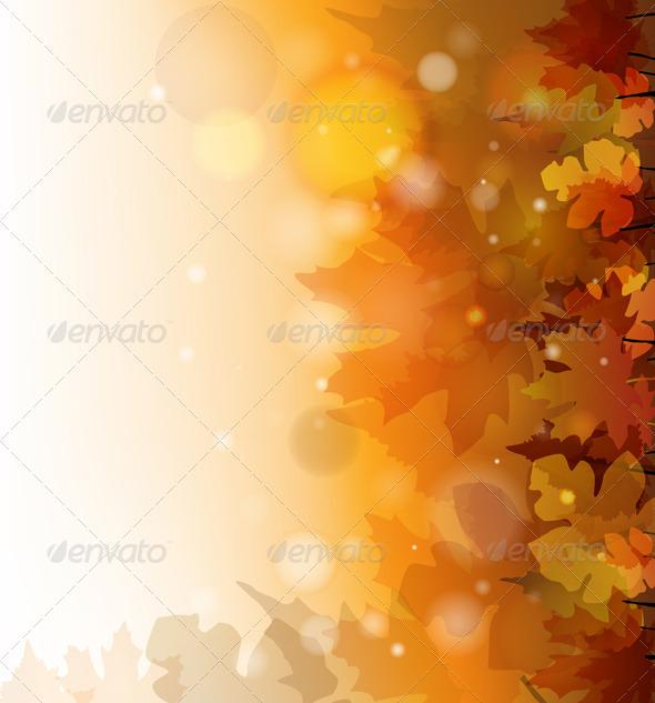 GraphicRiver Autumn Background 5631334
