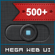 Complete Dark Web UI Mega Pack - GraphicRiver Item for Sale
