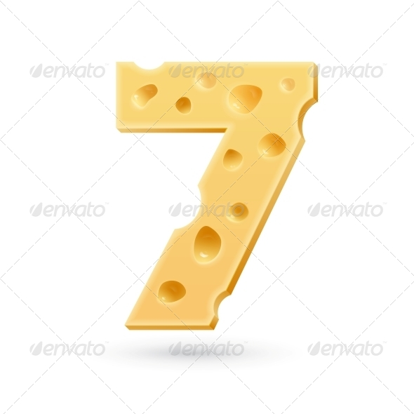 GraphicRiver Seven Cheese Number 5631895