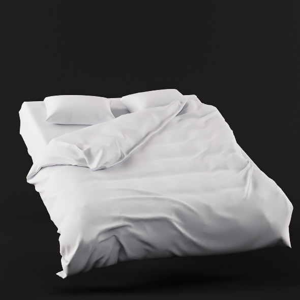 High Quality Bed Linen - 3DOcean Item for Sale