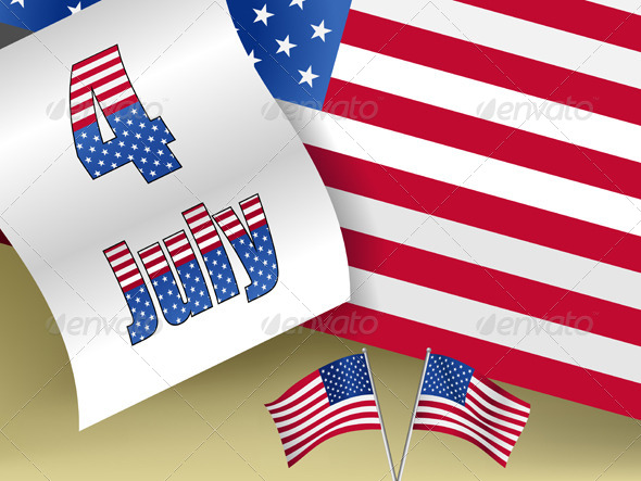 GraphicRiver 4th of July 5622425
