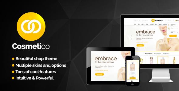 ThemeForest Cosmetico Responsive eCommerce WordPress Theme 5615400