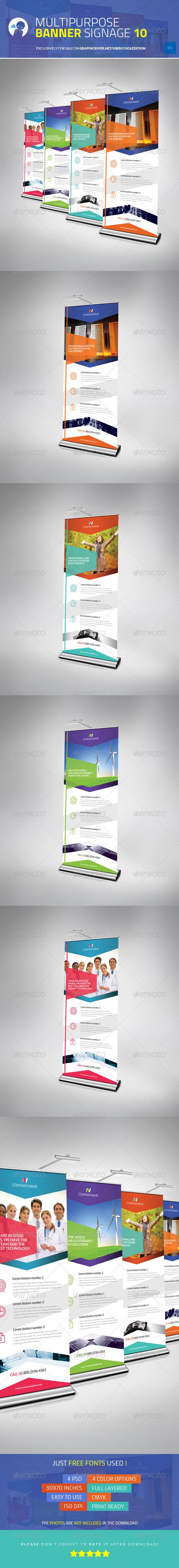 GraphicRiver Multipurpose Banner Signage 10 5633383
