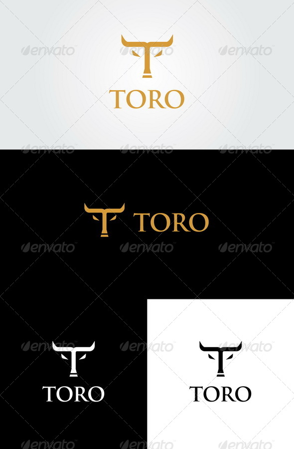 GraphicRiver Toro Letter T Logo 5633411