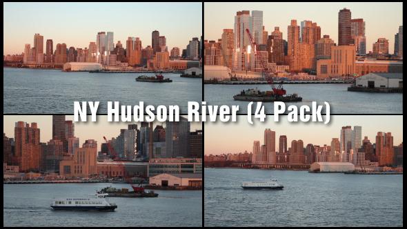NY Hudson River 4 Pack