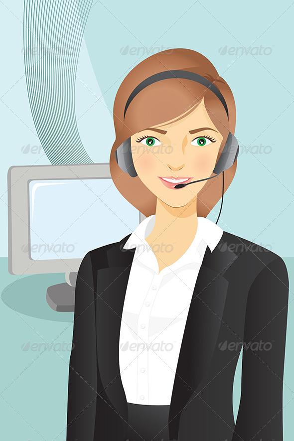 GraphicRiver Businesswoman 5633644