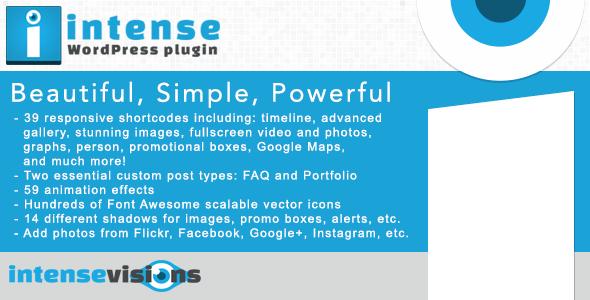 CodeCanyon Intense WordPress Plugin 5600492