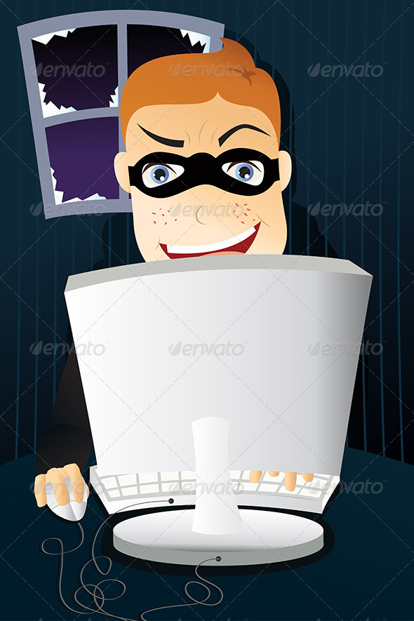 GraphicRiver Computer Criminal 5633748