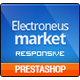Electronics Store PrestaShop Theme - Computers, Laptops, Cameras, Cell phones | Presta Electronues