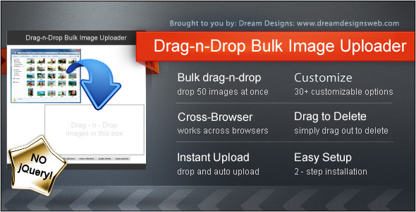 CodeCanyon Drag-n-Drop Bulk Image Uploader 5600335