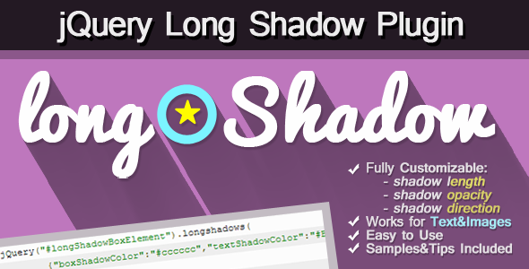 CodeCanyon Long Shadow jQuery Plugin 5610525