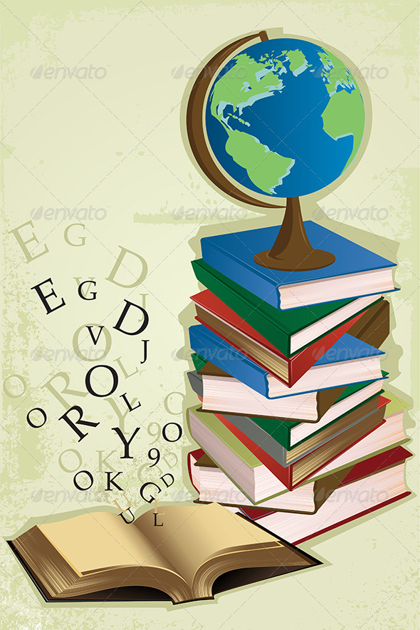 GraphicRiver Education Books 5634413