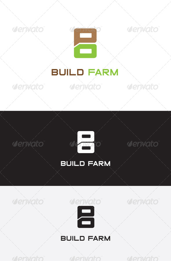 GraphicRiver B Letter Logo Design 5634414