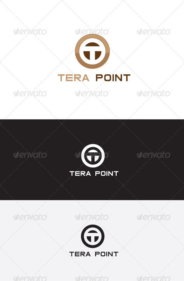 GraphicRiver T Letter Logo Design 5634494