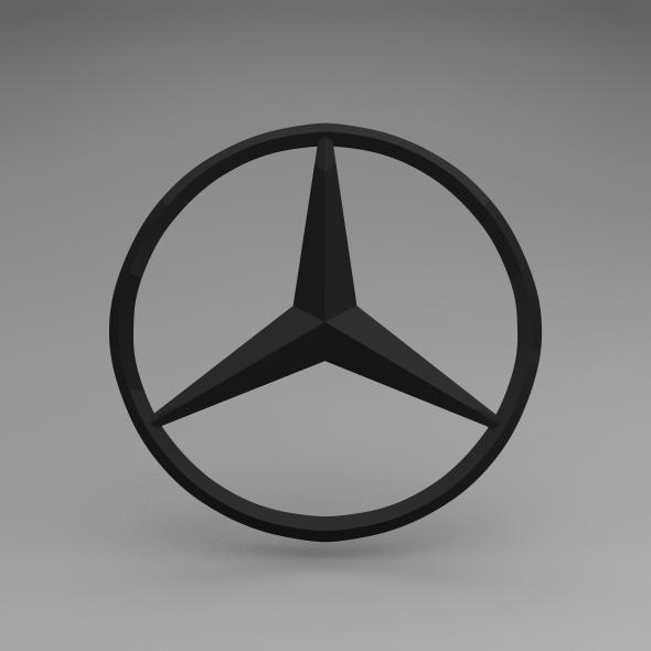 3DOcean Mercedes Logo 5622231