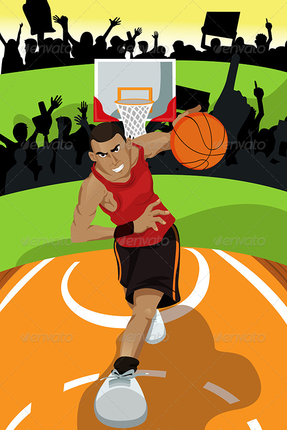 GraphicRiver Basketball Player 5634995