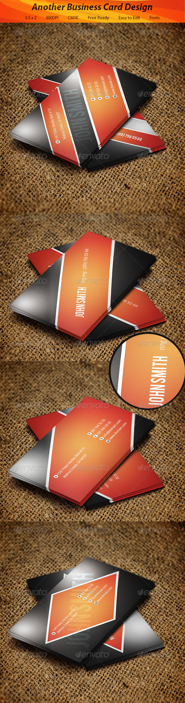GraphicRiver Creative Business Card 5635014