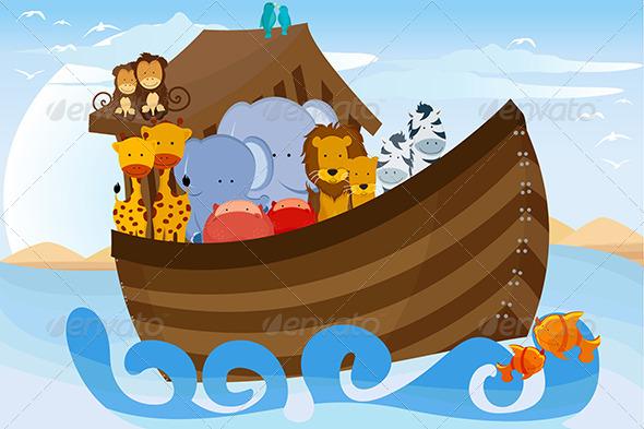 GraphicRiver Noahs Ark 5635195