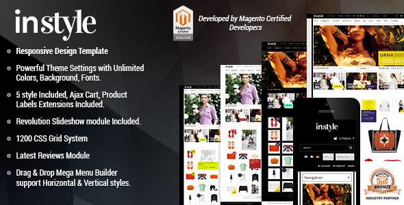 Responsive Magento Theme - Gala Instyle - Magento eCommerce