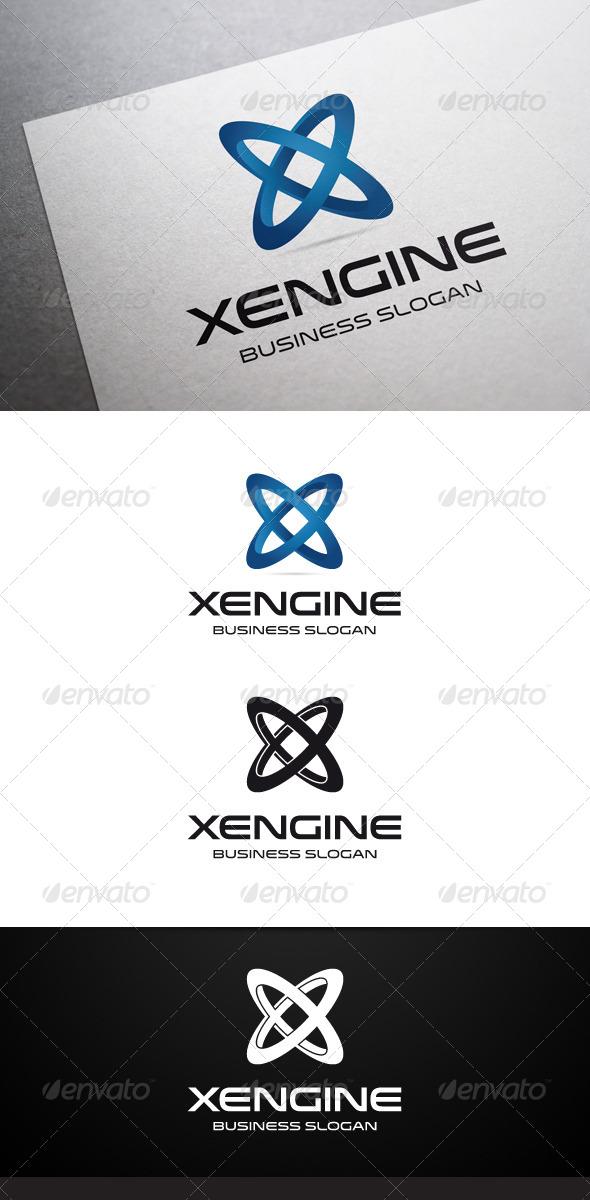 GraphicRiver Xengine X Letter Logo 5635371