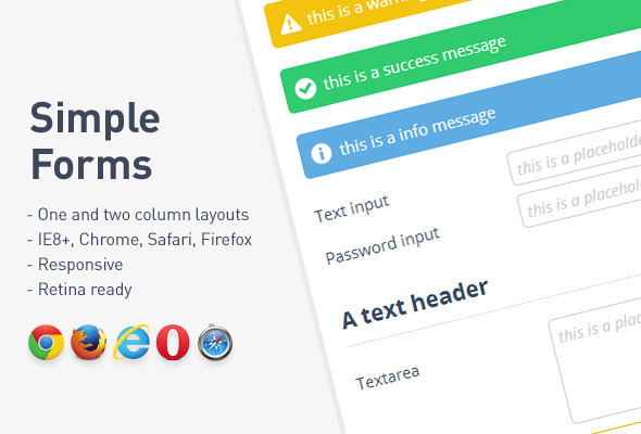 Simple Forms - CodeCanyon Item for Sale