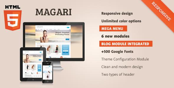 Magari - Responsive OpenCart Theme