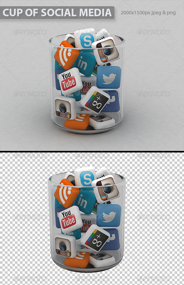 GraphicRiver Cup of Social Media 5636215
