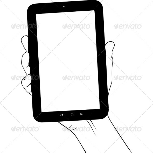 GraphicRiver Digital Tablet PC 5636455