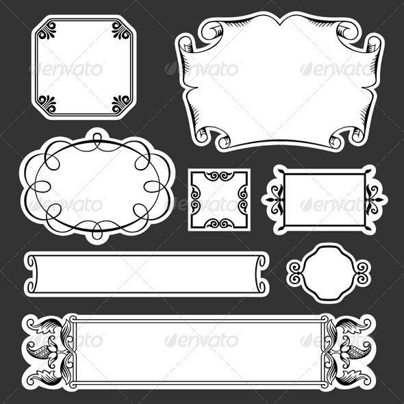 GraphicRiver Decorative Frames 5636483