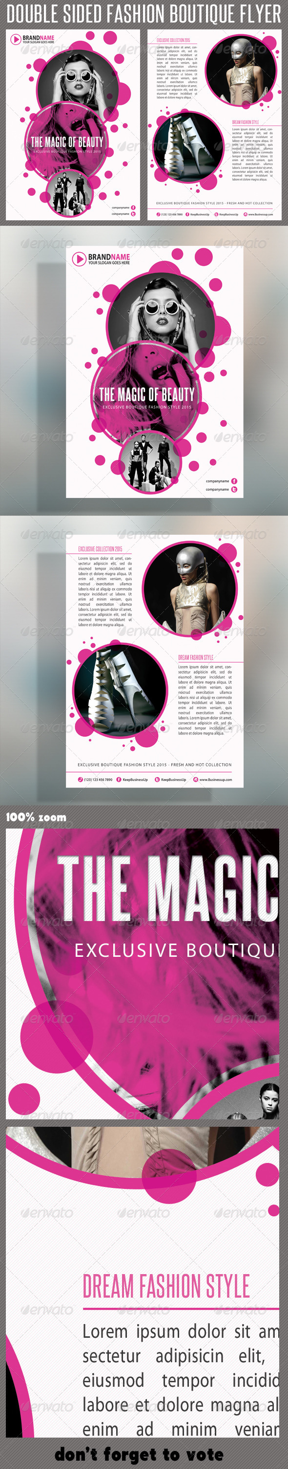 GraphicRiver Fashion Product Flyer 02 5636588