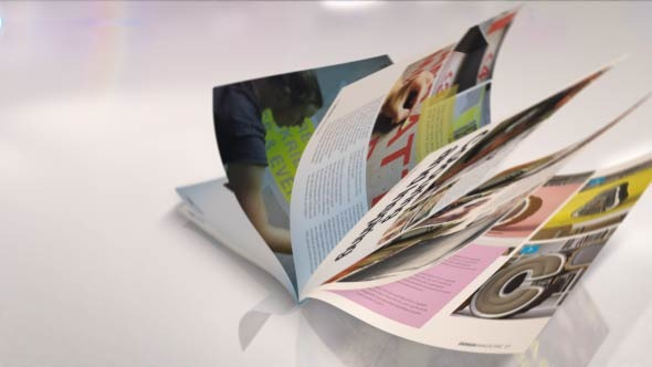 Magazine After Effects Template