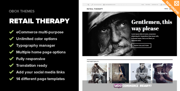 ThemeForest Retail Therapy Multi-Purpose eCommerce Theme 5636873