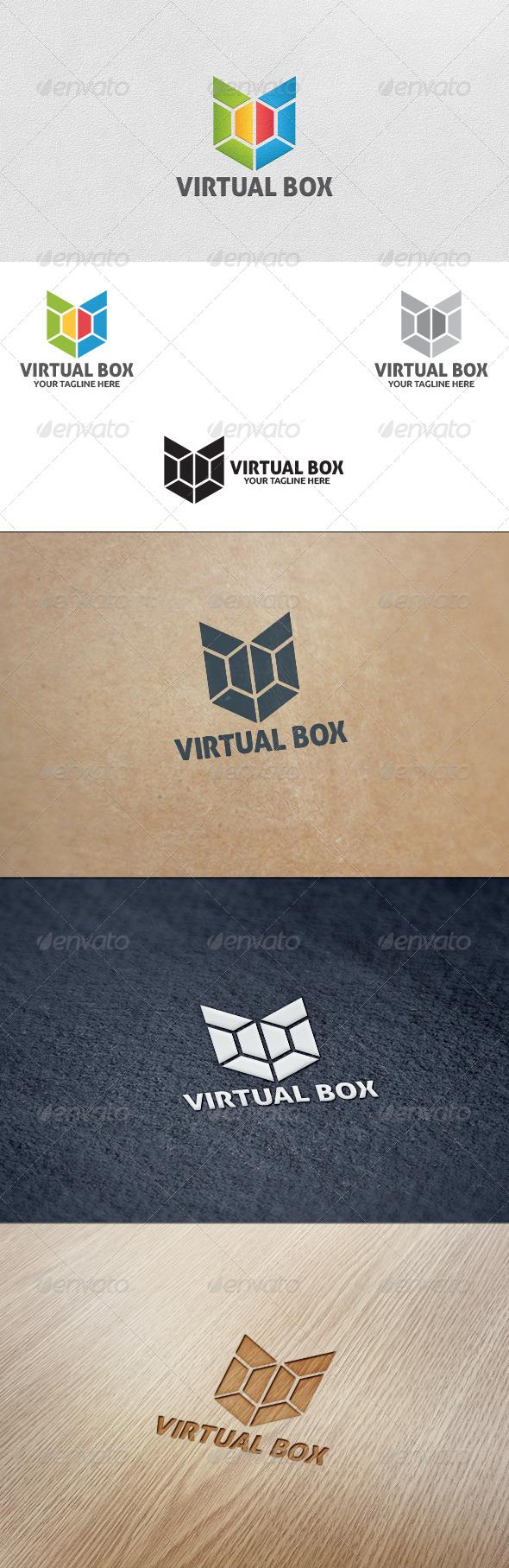 GraphicRiver Virtual Box Logo Template 5636944