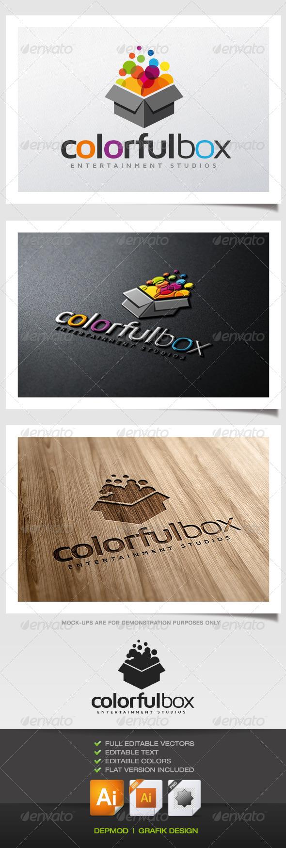 GraphicRiver Colorful Box Logo 5636948