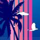 Flyng birds on Sunset - ActiveDen Item for Sale