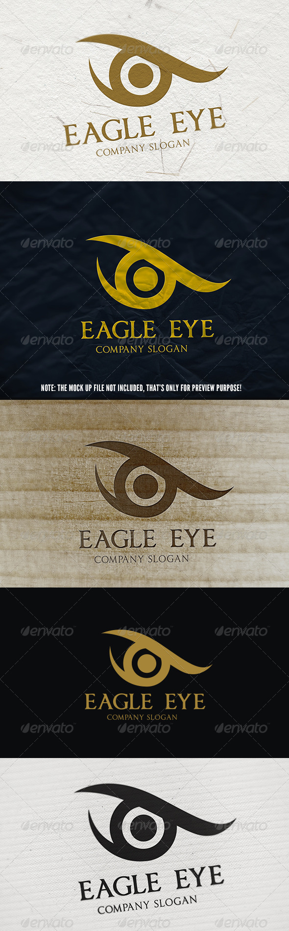GraphicRiver Eagle Eye Logo 5637149