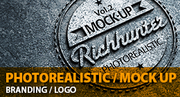 Photorealistic Logo Mock-Up