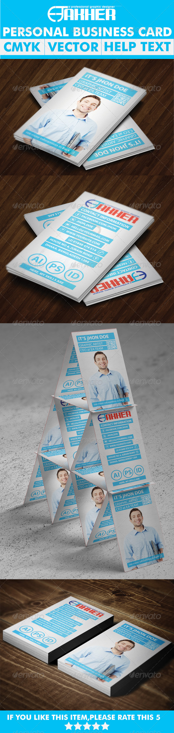 GraphicRiver Personal Business Card 5637254