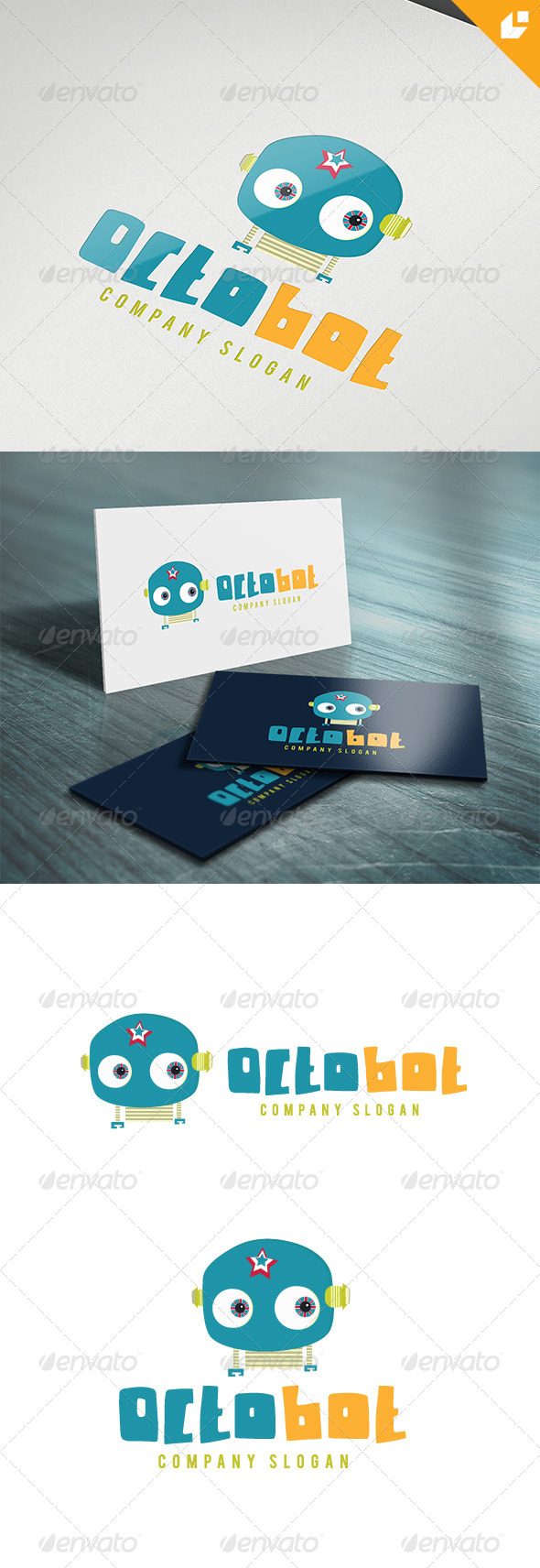 GraphicRiver Octobot Logo 5637295