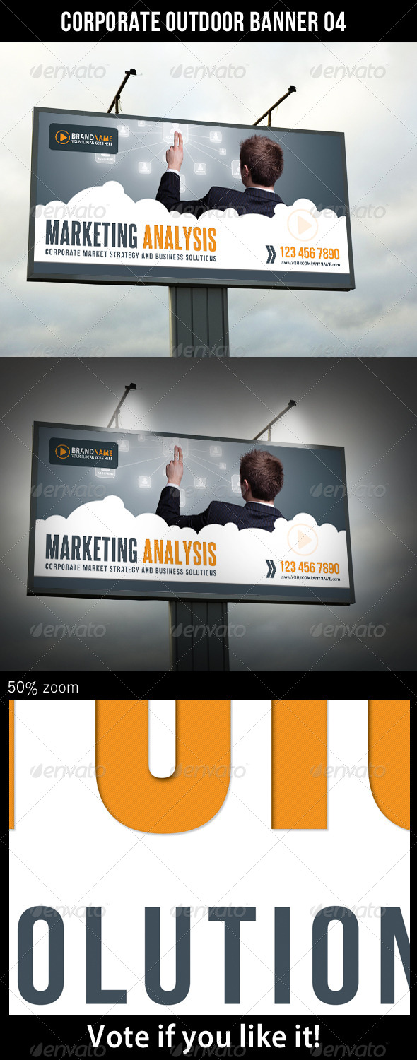 Corporate Outdoor Banner 08 - Print Templates