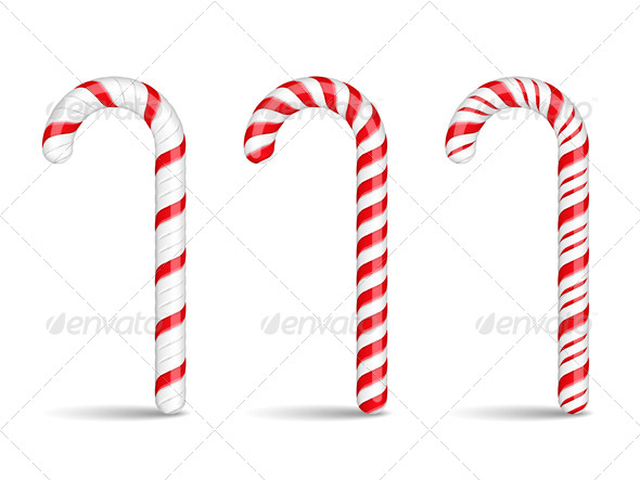 GraphicRiver Candy Canes 5638486