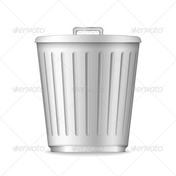 GraphicRiver Trash Can 5638494