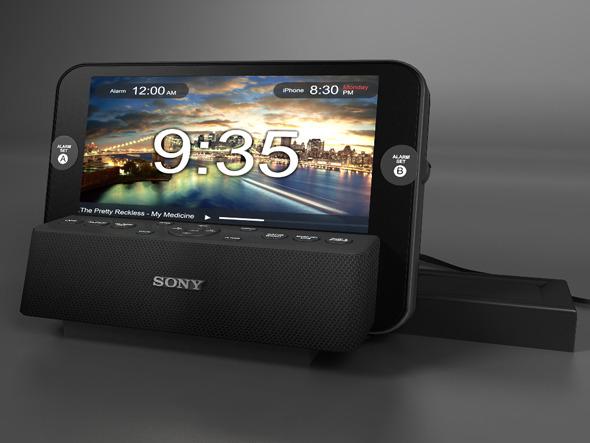 3DOcean Sony Radio Alarm 5638912