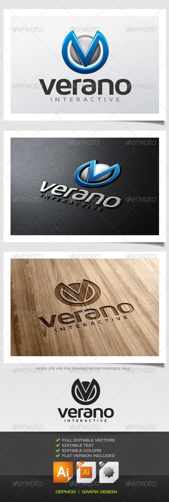 GraphicRiver Verano Logo 5638948