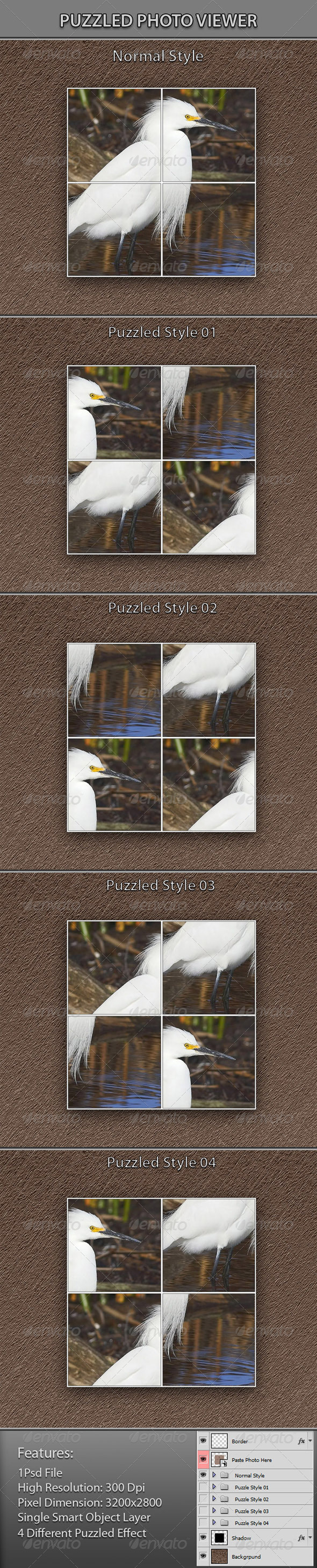 GraphicRiver Puzzled Photo Viewer 5638138