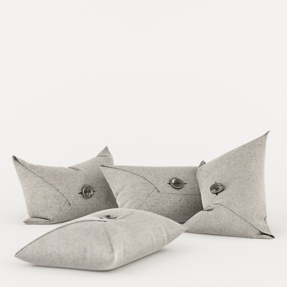 3DOcean Pillows Set B 5639879