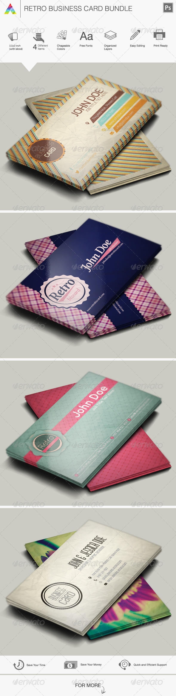 GraphicRiver Business Card Bundle 5640229